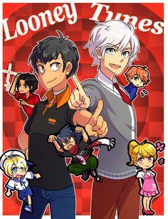 Tags: Anime, Lola, Looney Tunes, Bugs Bunny, Daffy Duck