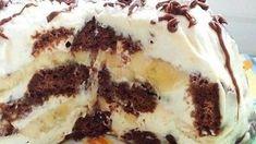 fantastické pokušnie...Perníkovo banánová torta