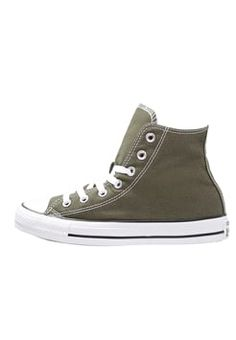 Converse - CHUCK TAYLOR ALL STAR - Korkeavartiset tennarit - herbal/white/black