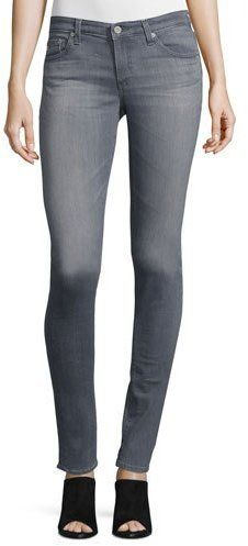 AG Legging Super Skinny 2 Year Jeans, Light Gray