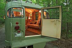 Living in a bus - rv setup?
