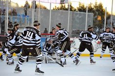 You Can't Miss the 2018 Capital Blue Cross Outdoor Classic American Hockey League, Hershey Bears, Frozen Pond, Blue Cross, Hockey Players, Motorcycle Jacket, Pure Products, Classic, Outdoor