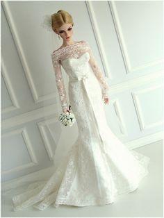 cff22c8164ab 3380 δημοφιλείς εικόνες με BRIDE DOLLS | Barbie wedding dress ...
