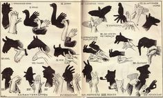 Illustrated guide to shadow puppetry Shadow Art, Cherished Memories, Shadow Puppets, Old Photographs, Zoo Animals, Old Movies, Time Travel, Vintage Photos, Old Things