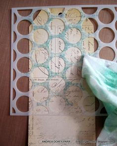 Tutorials: Stamping Over Stencils