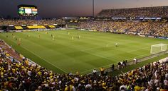Crew Stadium- Home of the Columbus Crew (MLS)