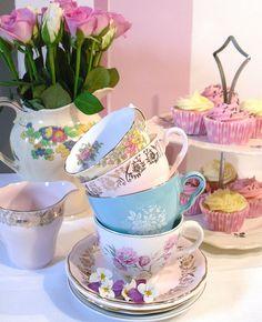 Vintage Tea Parties.