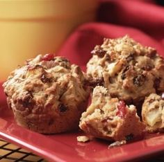 healthy diet muffins - sweet our sour - 2 great recipes!