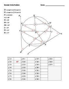 geometry worksheets highschool
