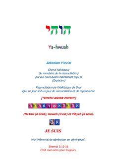 La bonne nouvelle de la vérité by Keiyah ben Yâ-hwuah via slideshare