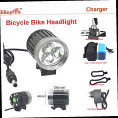 43.63$  Watch now - http://alivjj.worldwells.pw/go.php?t=32788391889 - Bicycle bike Headlight 3*T6 3800 lumen LED Headlamp Headlight kit 4 Modes+rechargeable 4*18650 Battery Pack