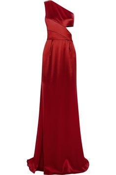 PRABAL GURUNG One-shoulder silk-satin gown £1,290.02 http://www.theoutnet.com/products/549575