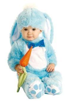 kleines Häschen Hase Kostüm hellblau 0-6 + 6-12 Monate | eBay