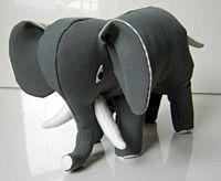 Elefant selber machen