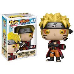 Funko Pop! Naruto Sage Mode, Gamestop Exclusive, Naruto Shippuden, Anime, Funkomania