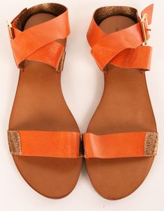 Zapatos de mujer - Womens Shoes - orange