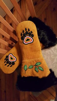 Mens mitts