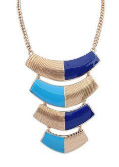 New Design Alloy Punk Geometric Pendant - Tassel Necklace, Arrow Necklace, Pendant Necklace, Choker Jewelry, Layer Necklace, Necklaces, Jewellery, Chokers, Women Jewelry