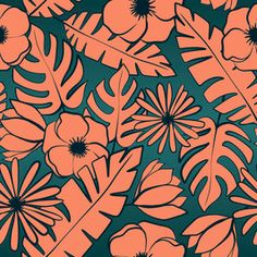 Buy Womenswear Print & Pattern Royaly-Free Stock Textile Designs in Seamless Repeat - Patternbank Tropical Prints, Textile Design, Animal Print Rug, Repeat, Print Patterns, Textiles, Stuff To Buy, Free, Home Decor