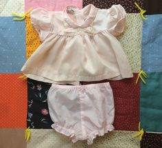 1960s Baby Dress and Bloomers by lishyloo on Etsy