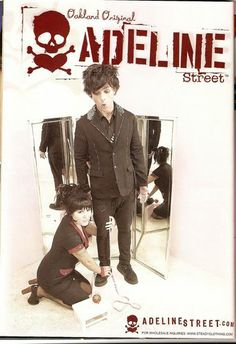 Adeline Street advertising poster featuring Billie Joe and Adrienne Armstrong