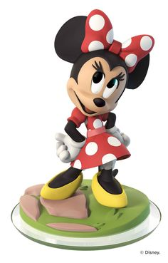 Disney Infinity 3.0 Figure: Minnie Mouse (Wave 1, Toy Box Only, Sold Separately)