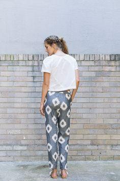 Traveller Pants - black spot