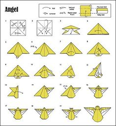 Origami Angel Step By Diagram Chevy Silverado Dually Xd Rockstar Wheels 63 Best Wonderful One Sheet Images Diy Stationery How To Make Instructions Snowflake Of Christmas Animated Wisemind Studios