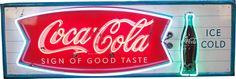 coca cola fishtail sign - Google Search
