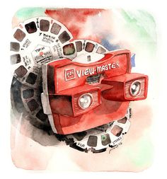 Vintage gadget series: View-Master Model G  by Pinot