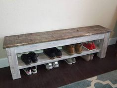 Entryway bench Farmhouse storage bench shoe storage bench with shelf storage ben 2019 Entryway bench Farmhouse storage bench shoe storage bench with shelf storage bench mudroom distressed 2019 Entryway bench Farmhouse storage bench shoe storage bench Shoe Storage Bench Diy, Shoe Storage Design, Coat And Shoe Storage, Shoe Storage Small, Shoe Rack Bench, Corner Storage, Shoe Racks, Rack Design, Diy Bank