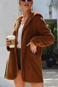 #coatsforwomen #coatsforwomenwinter #coatsforwomencasual #coatsforwomenclassy #coatsforwomenclassyelegant #coatsjackets #coatsjacketswomen #coatsforwomen2020 #coatsforwomen2020fashiontrends #streettide Coats For Women, Clothes For Women, Teddy Coat, Fall Winter, Autumn, Shaggy, Faux Fur, Cool Style, Fur Coat