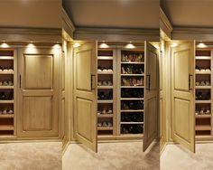 Old World Master Bath Remodel - mediterranean - bathroom - chicago - Will Waibel Dressing Room Closet, Closet Bedroom, Dressing Area, Closet Space, Shoe Closet, Master Bedroom, Master Closet Design, Wardrobe Design, Master Suite
