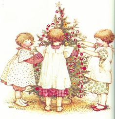 by Holly Hobbie (http://hazelruthes.blogspot.com/2007/12/its-holly-hobbie-christmas.html)