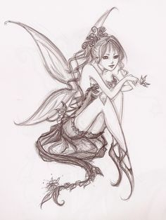 Fairy Drawings - - Yahoo Image Search Results