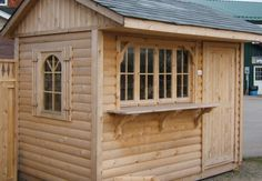 Custom cedar bar by Flamborough Patio Bar Unit, Garage Doors, Shed, Outdoor Structures, Patio, Outdoor Decor, Furniture, Home Decor, Lean To Shed