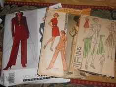 Simplicity Vogue    Du Barry patterns by MinaLucinda on Etsy, $25.00