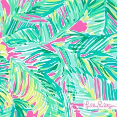 Lilly Pulitzer Tropical Pink Tropical Storm