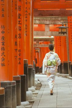 This is my favorite place ever!  Fushimi Inari, Kyoto, Japan