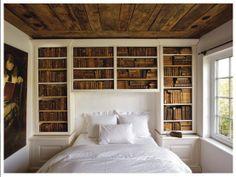 biblioteca no quarto