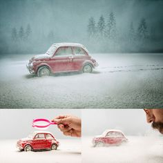 Photographer Uses An Amazing Technique To Make Miniature Dream World #inspiration #photography