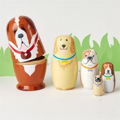 set of nesting dogs by Cupcakes & Cartwheels