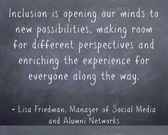 Inclusion-is-opening-our-minds; Lisa Friedman