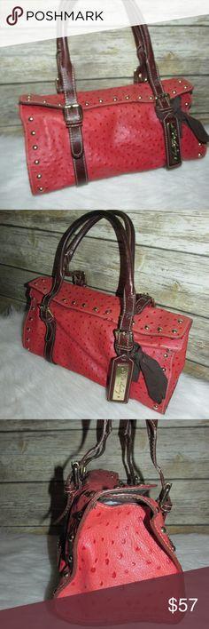I just added this listing on Poshmark: Kate Landry Firenze Orange Ostrich Leather Purse. #shopmycloset #poshmark #fashion #shopping #style #forsale #Kate Landry #Handbags