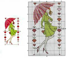 Points, Stitch Patterns, Stitching, Cross Stitch, Paris, Tour Eiffel, Woman, Costura, Punto De Cruz