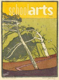 SchoolArts Magazine. April 2015. Design, art education magazine for K-12 art educators #ArtEducation #ArtEd