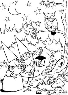 David the Gnome Coloring Pages 11