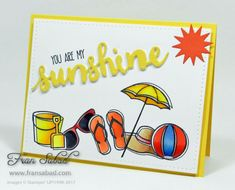 Day at the Beach by fsabad - Cards and Paper Crafts at Splitcoaststampers