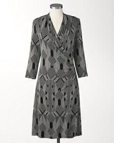 Diamond sketch dress - [K19608]
