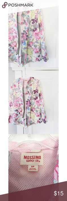 Mossimo Supply Co. Target Floral Print Jacket Mossimo Supply Co. Target Floral Print Jacket.  New condition, never worn.  Women's size small. Mossimo Supply Co Jackets & Coats